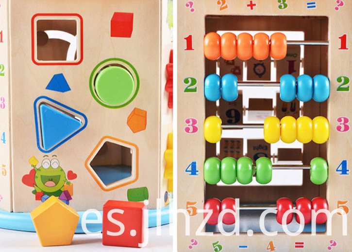 Eight-in-one Wooden Toys