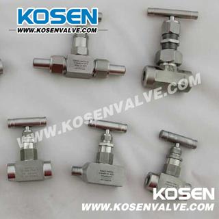 Stainless Steel 1/2 Nptf-Needle Valve (J31)