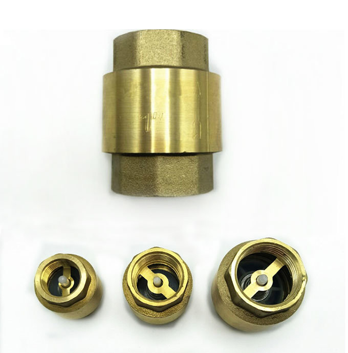 1/2 - 4 Inch Water Vertical Spring Flap Brass Check Valve