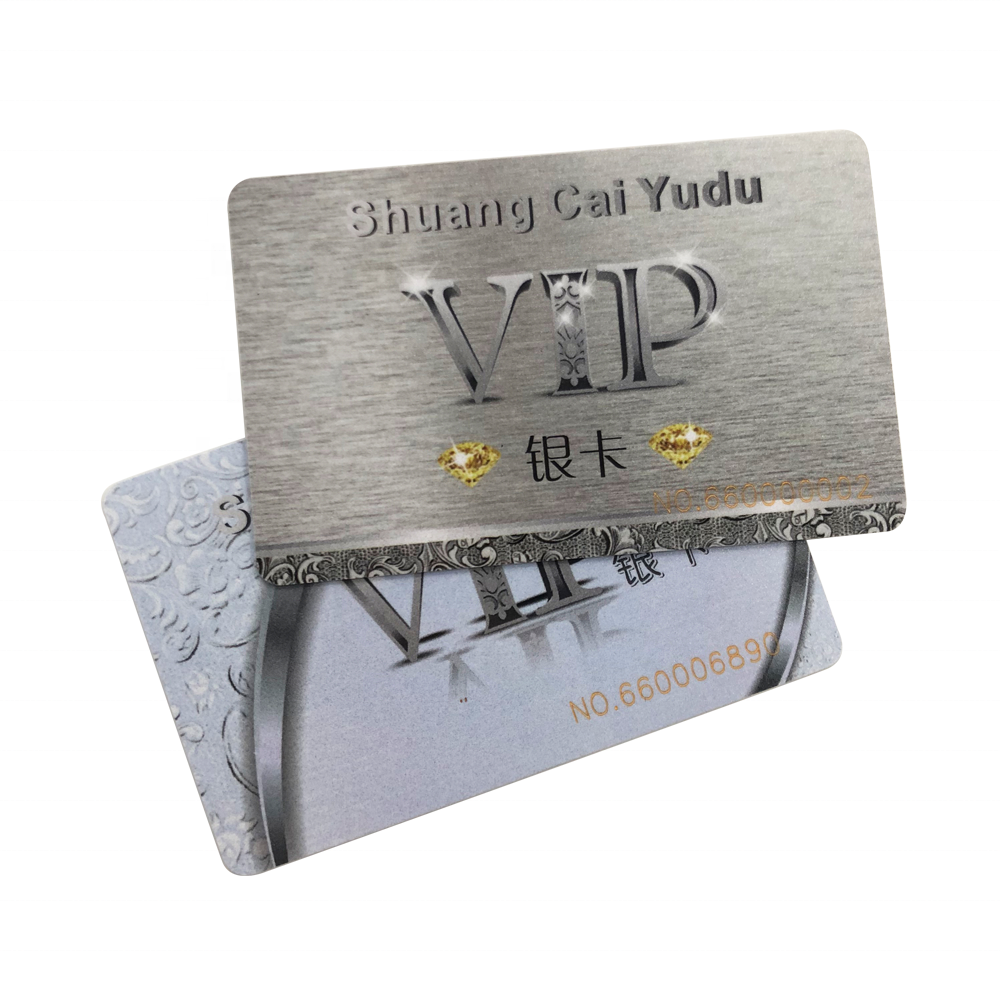 RFID 13.56MHz HF NFC PVC Smart Cards