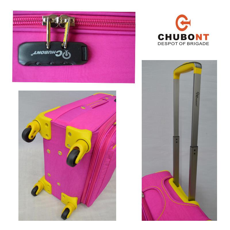 2017 Chubont Fashion 150d Lining Wheeled Waterproof Leisure Suitcase