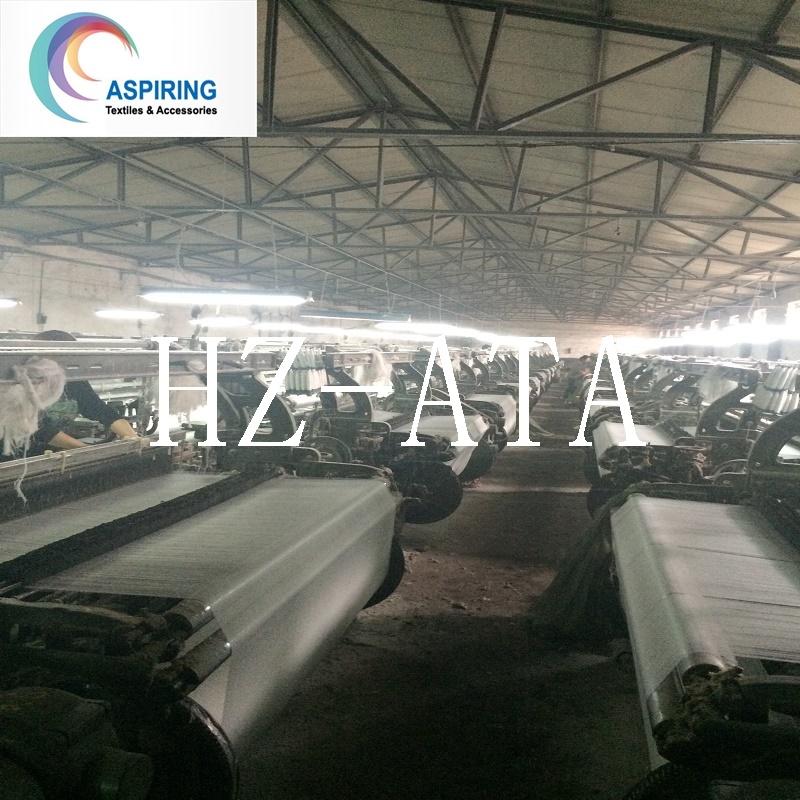 100%Polyester 45X45 110X76 Grey Fabric