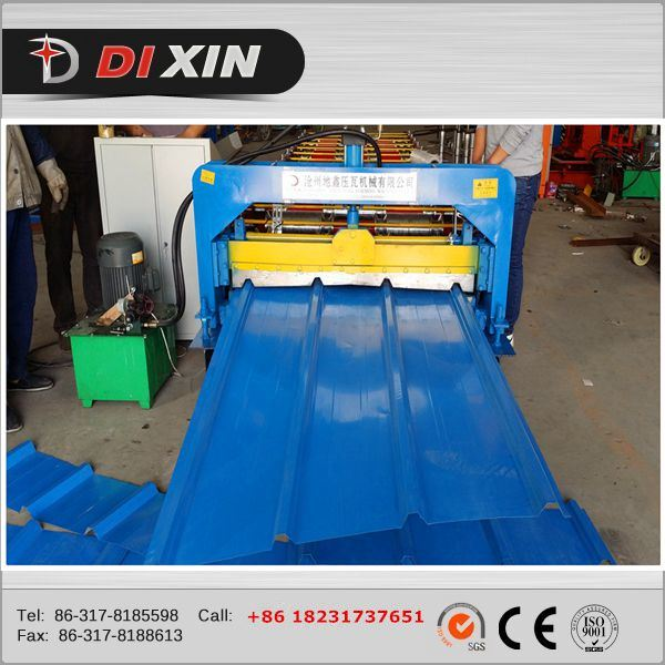 Dixin Wall and Roof Tile Panel Chrome Roll Forming Machine