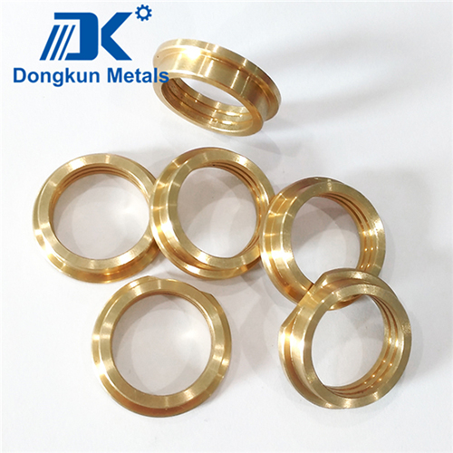 Bronze and Brass CNC Machining Bushing Customized