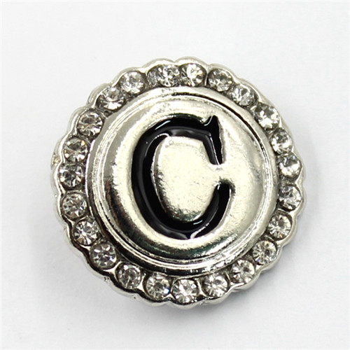 18mm Antique Style Decorative Clothing Snaps Fashion Metal Buttons