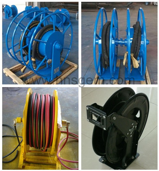 Spring Type Hose Reel Drum for Hydraulic Oil