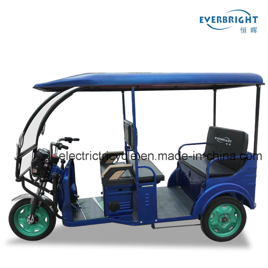 Everbright DC Brushless Motor Three Wheeler Electric Tricycle for Passenger