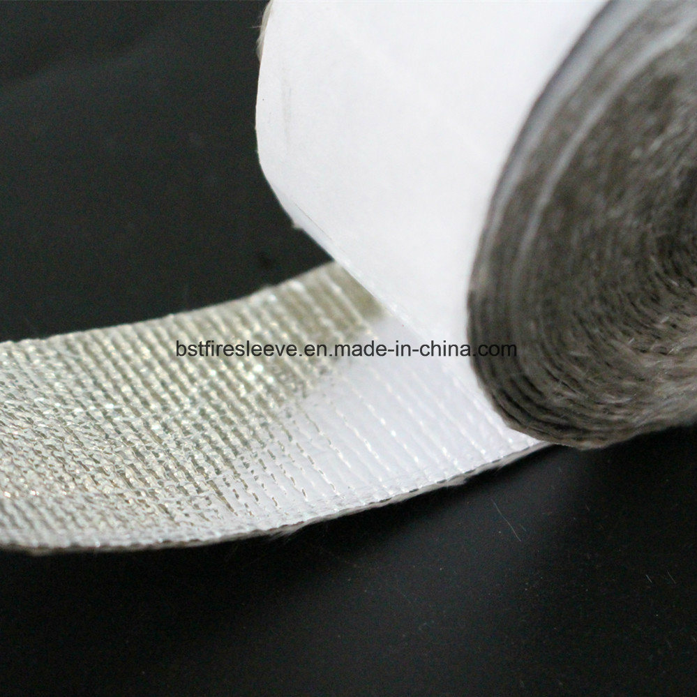 Radiant Heat Shield Thermal Protection Aluminum Foil Laminated Fiberglass Tape