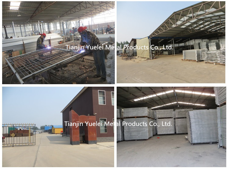Road Safety Barrier Fence / Metal Crowd Control Barriers/Hot Sale China Made Galvanized Crowd Control Barriers