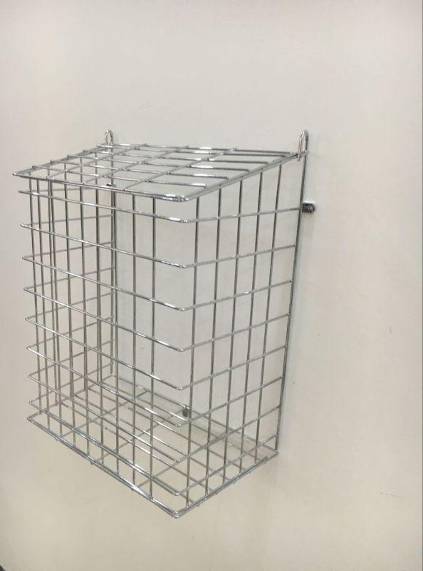 Wire Mesh Chrome Lettercage Basket