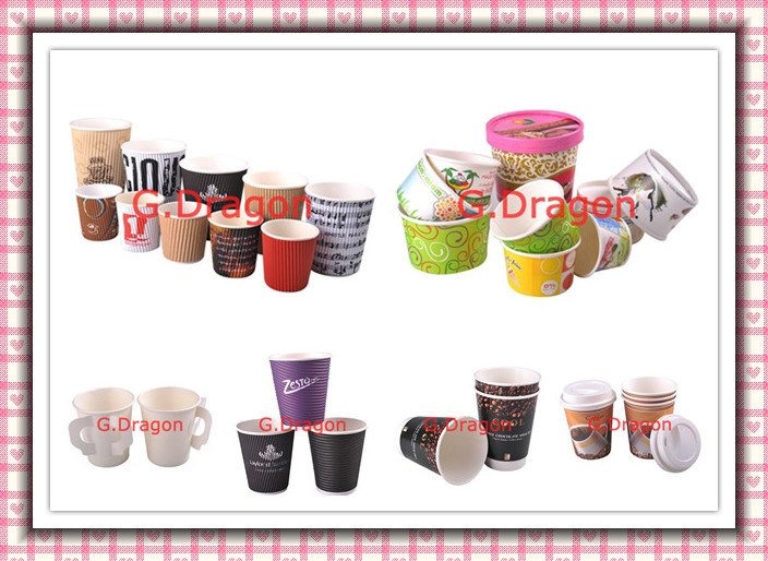 1.5-32 Ounce Hot Beverage Paper Cups with Lids (PC025)