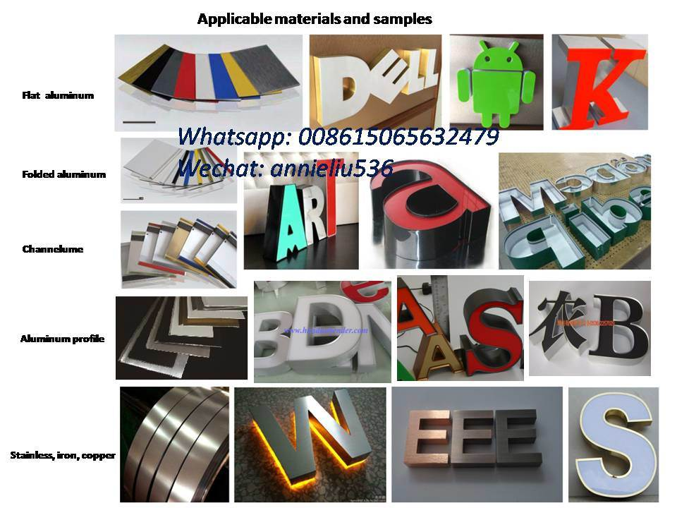 Smart Auto Letter Bending Machine for Channel Letters