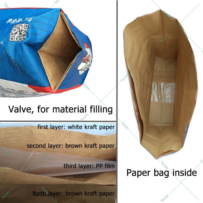 High Output Cement Paper Bag Making Machine (ZT9804 & HD4913)