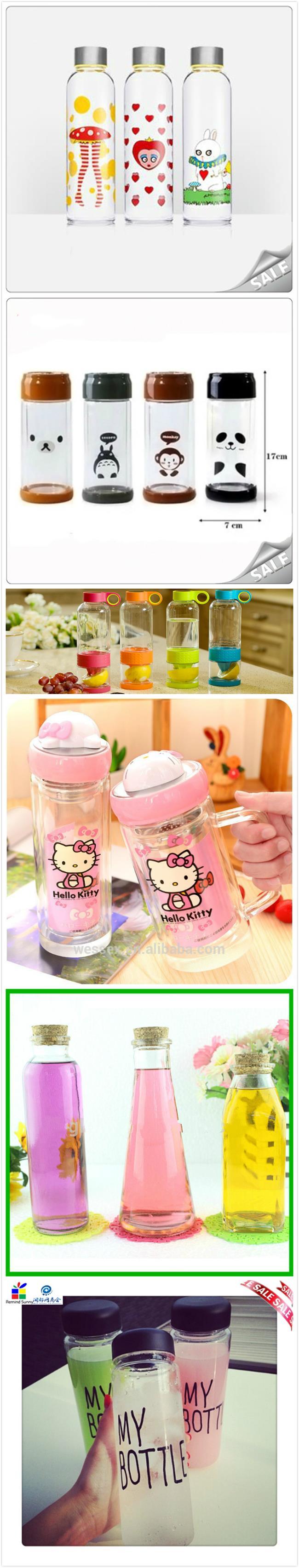Wholesale Transparent Mason Jar for Beverage Glass Milk Bottle with Cover