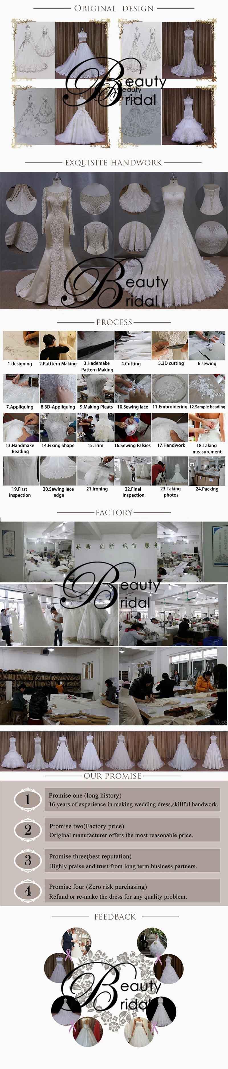 Hot Sale Sweetheart Wedding Dress Pattern