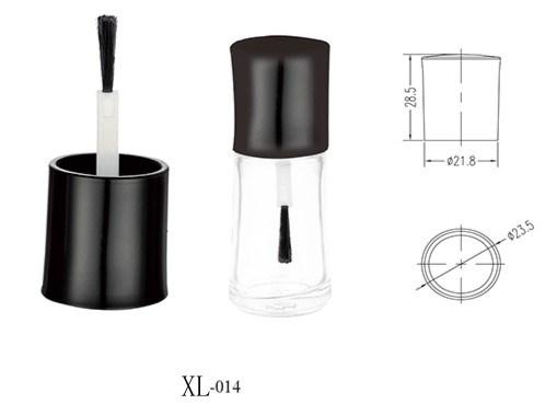 Luxury Makeup Packaging Magnetic Matte Glass Nail Polish Bottle Cap Plastic Bottle Cap for Makeup