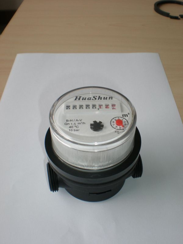 Single Jet Water Meter/Plastic Class B Water Meter/80mm Small Water Meter