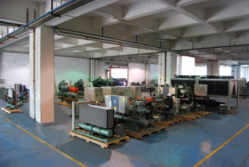 Plastic Plant 250ton Water Cooled Screw Compressor Water Chiller