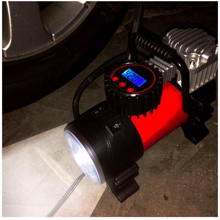 Eversafe Digital Car Tire Inflator with Tire Pressure Gauge