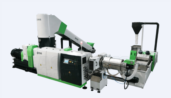 Plastic Recycling Pelletizing System for Pet Film/Filament/Flakes/Regrinds