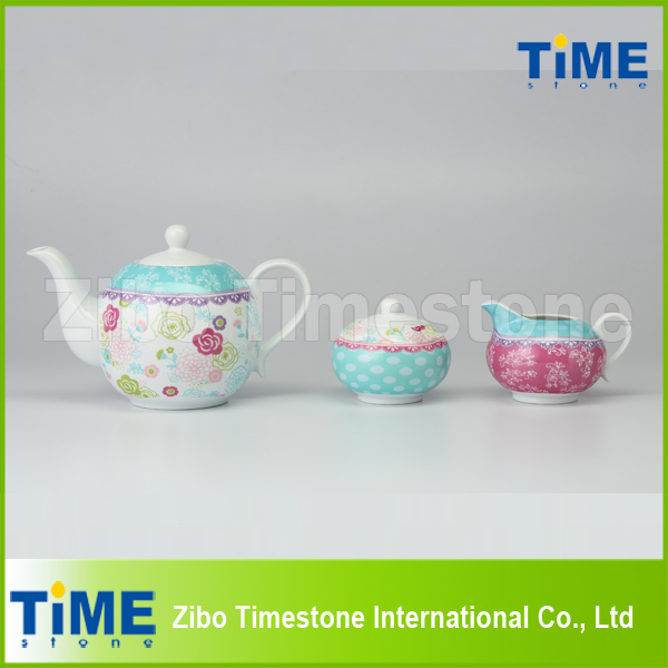 Porcelain Wholesale 3PCS Tea Set