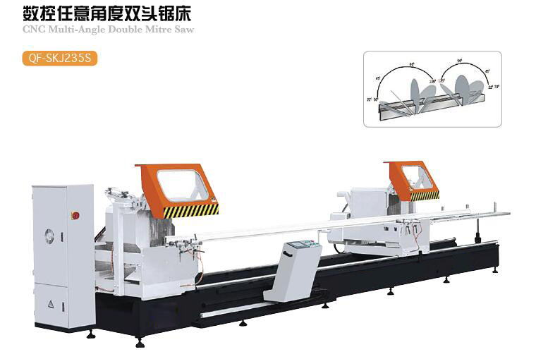CNC Multi-Angle Double Mitre Saw