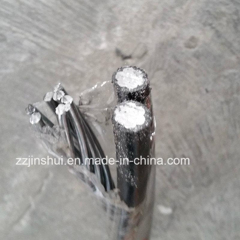 Service Drop Cable Aluminum Triplex 4AWG Periwinkle