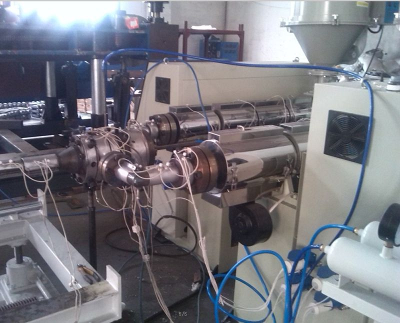 Double Wall Corrugated Water Seepage Pipe Making Machine