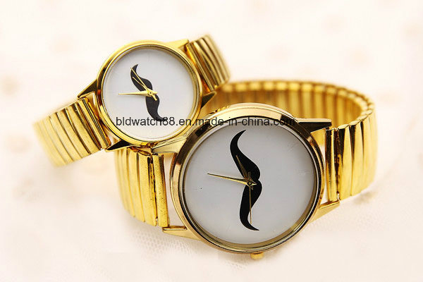 Classic Round Design Pair Couple Wrist Watches for Lovers