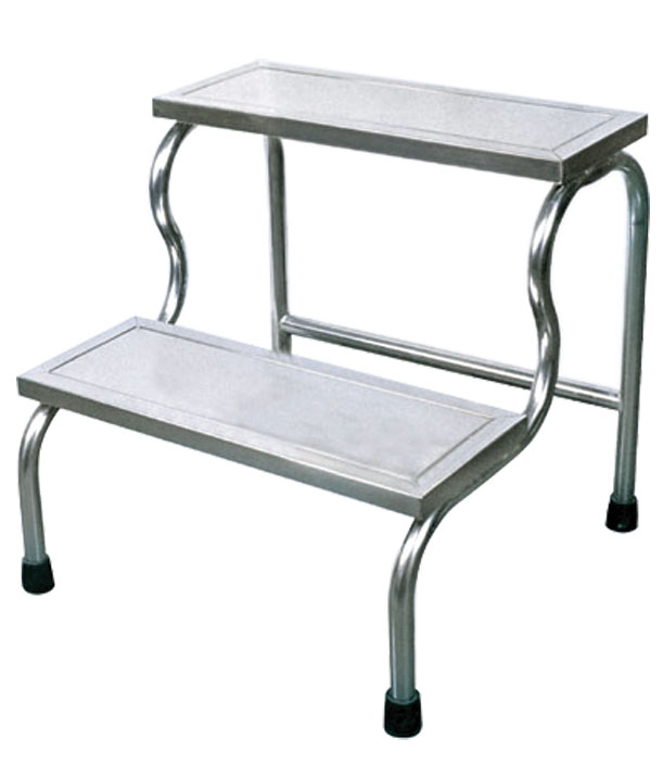S. S. Footstool for Hospital with Single Step