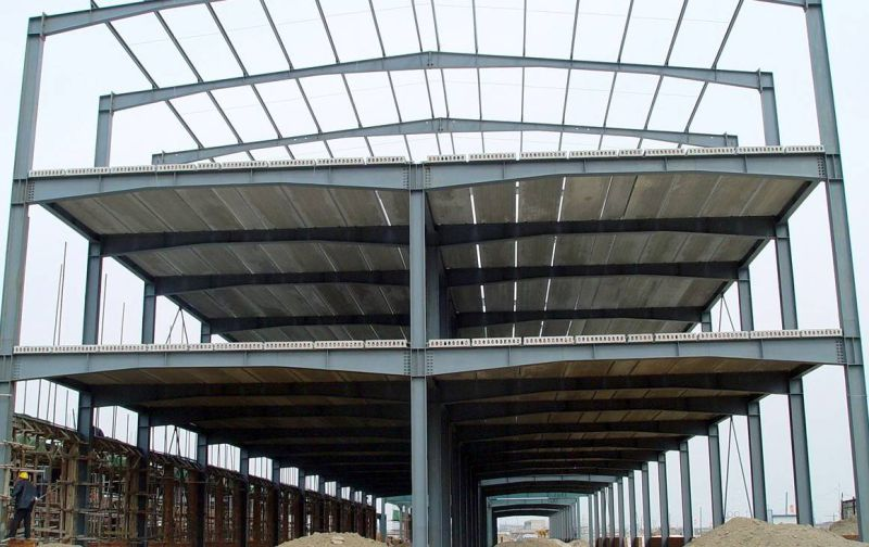 Pre-Engineered Large-Span Light Structural Steel Workshop