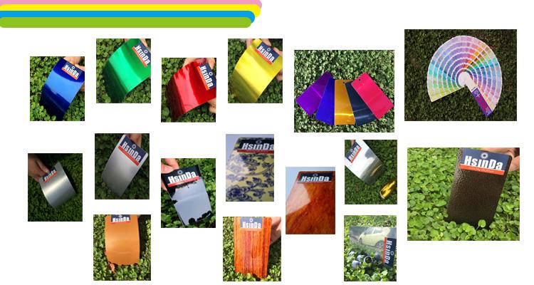 Free Sample Epoxy Polyester Artistic Effect Spray Powder Coating Paint