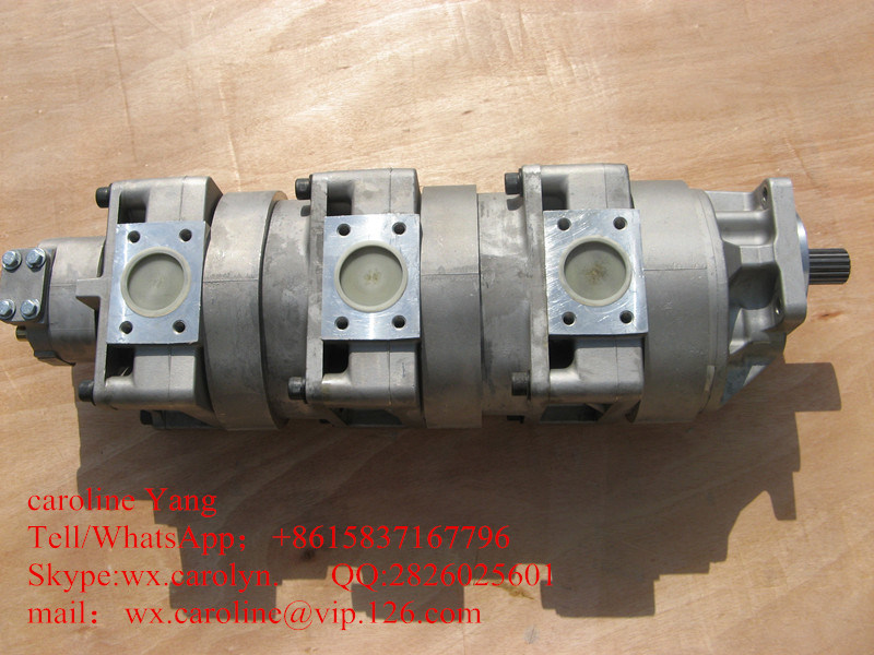 Original Komatsu Wheel Loader Gear Pump: 705-57-21010 for Wa180-3 Komatsu Wheel Loader Parts