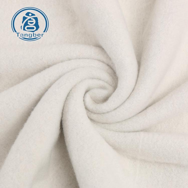brushed terry fleece fabric