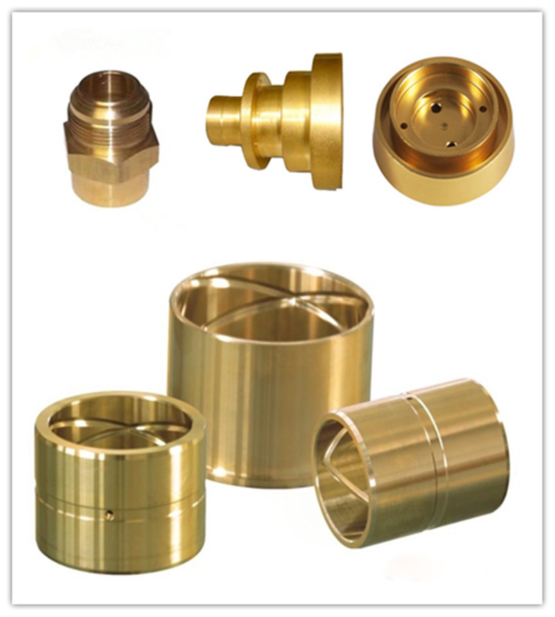 High Precision Customized Brass CNC Machining Parts