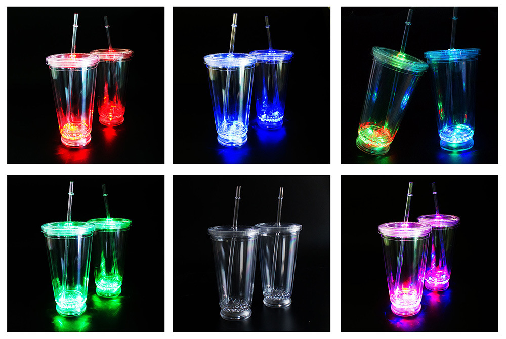 LED Tumbler LED Mug LED Plastic Tumbler Acrylic Tumbler