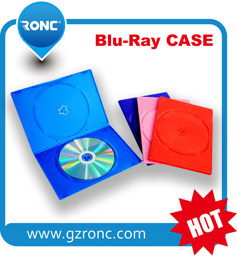 Eco-Friendly Strong Long Single Double 7mm CD Case