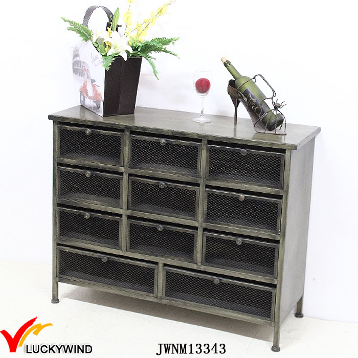 Vintage Industrial Style Heavy Duty Metal Storage Cabinets