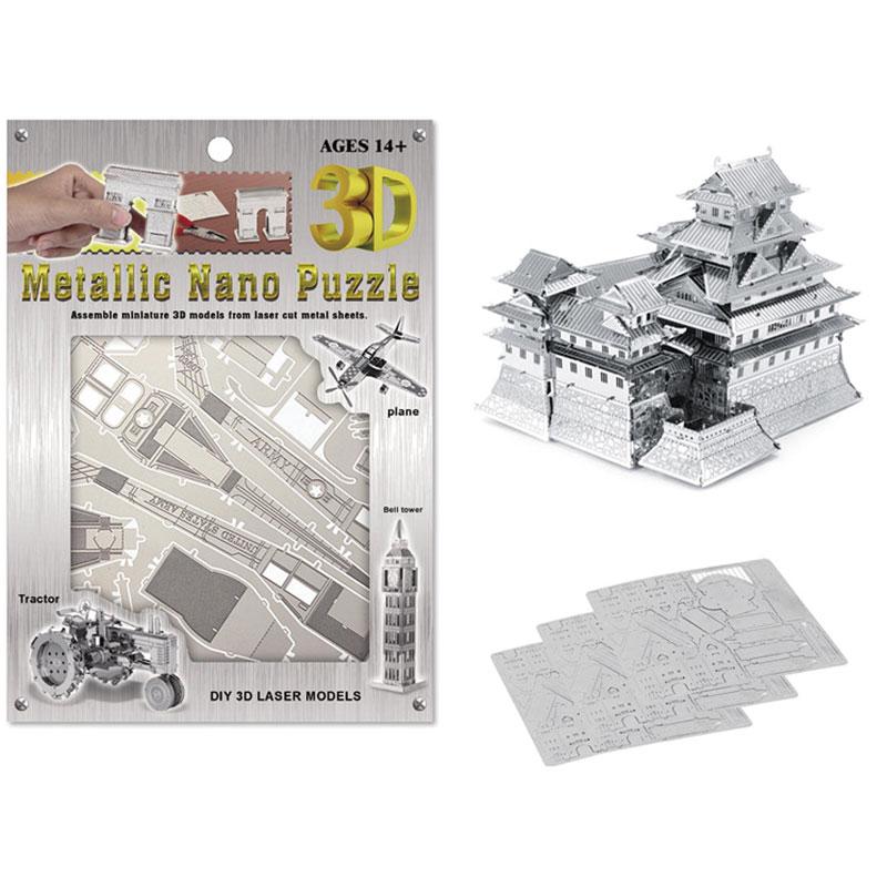 DIY Blocks Himeji Castle 3D Puzzle Toy