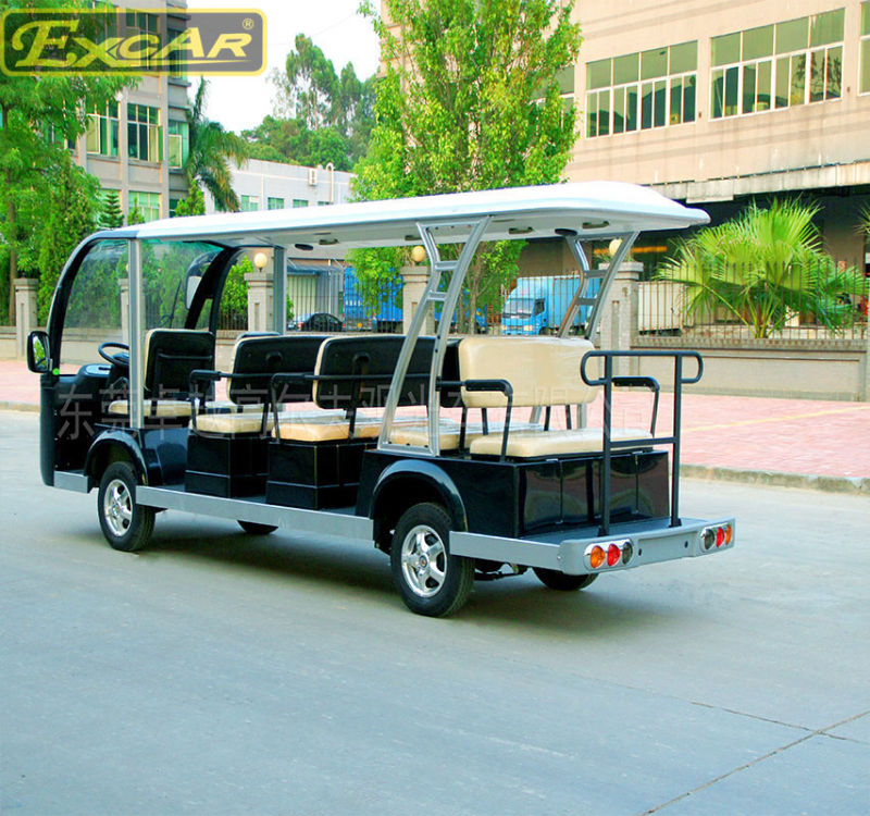 14 Seats Electric Sightseeing Bus for Tourist