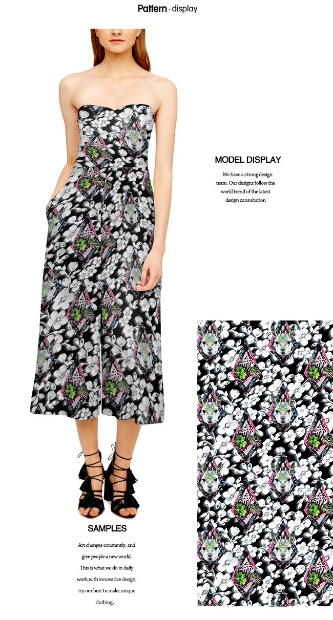 Fashion Printed Jacquard Garment/ Home Textile Fabric