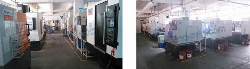 CNC Turning Machining Rubber Coating Aluminum Body