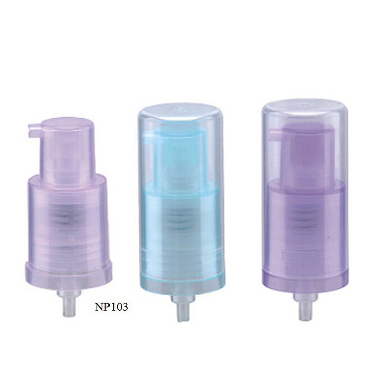 Foam Pump Plastic Bottle for Facial Cleanser (NB241)