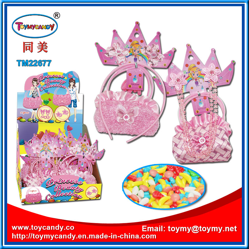 Princess Plush Collection Kids Toy with Candy