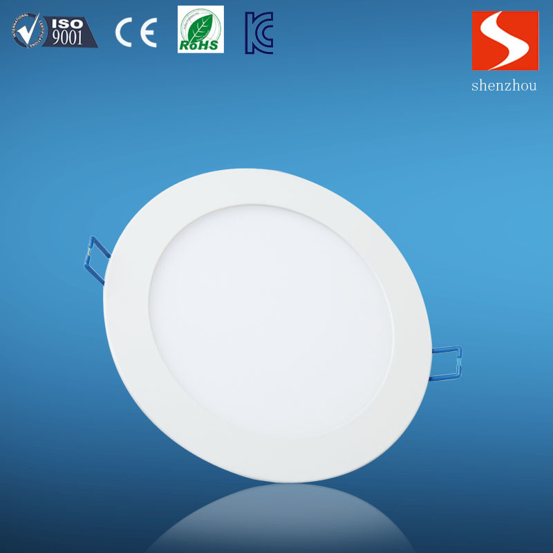 Commercial Indoor White Slim 24W Round LED Panel Lamp