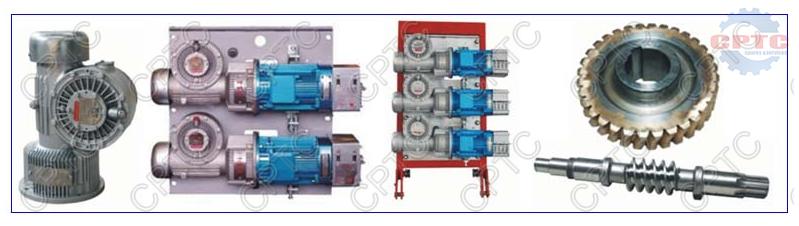 1: 14 Reduction Gearbox for Construction Hoist Parts
