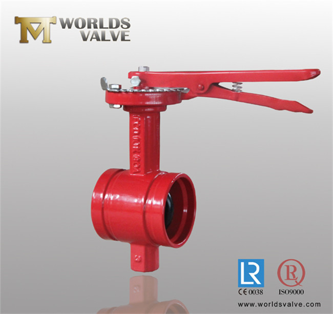 Grooved Butterfly Valve (WDS)