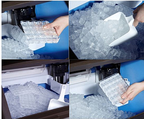 Commercial Cube Ice Machine Ice Maker with Ce