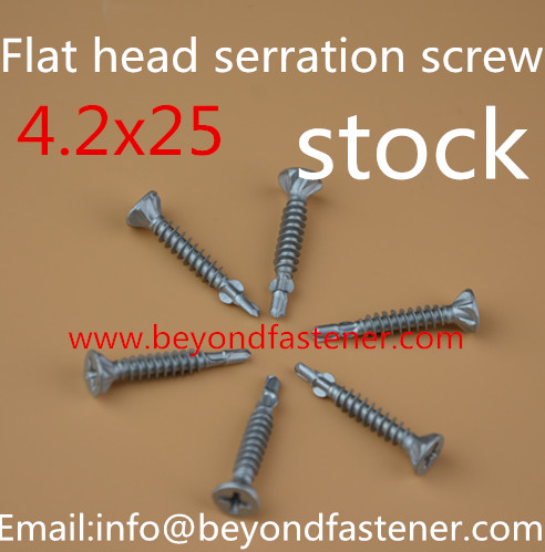 Self Drilling Screw with Wing Tek