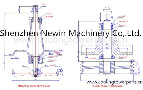Marley Cooling Tower Belt Reducer